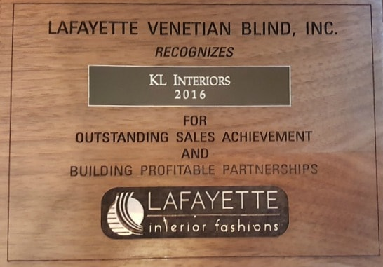 KL Interiors LLC Named Top 100 With Lafayette Interior Fashions